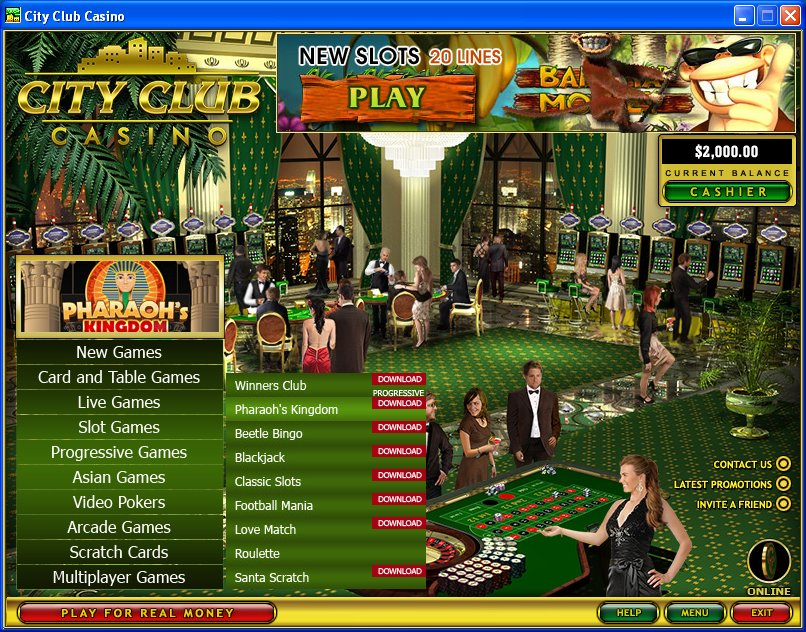 city club casino flash